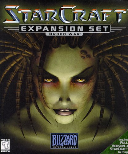 StarCraft: Brood War Deutsche  Texte, Menüs Cover
