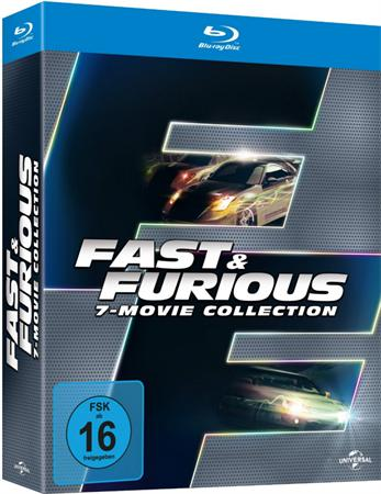 : Fast and Furious Collection 1 7 2001 2015 German dl 1080p BluRay 264 Scene