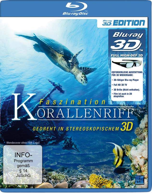 : Faszination Korallenriff 3d German dts dl BluRay x264 1080p h sbs MovieFan