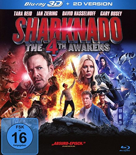 : Sharknado 4 The 4th Awakens 3D 2016 German Dl 1080p BluRay x264 - LizardSquad