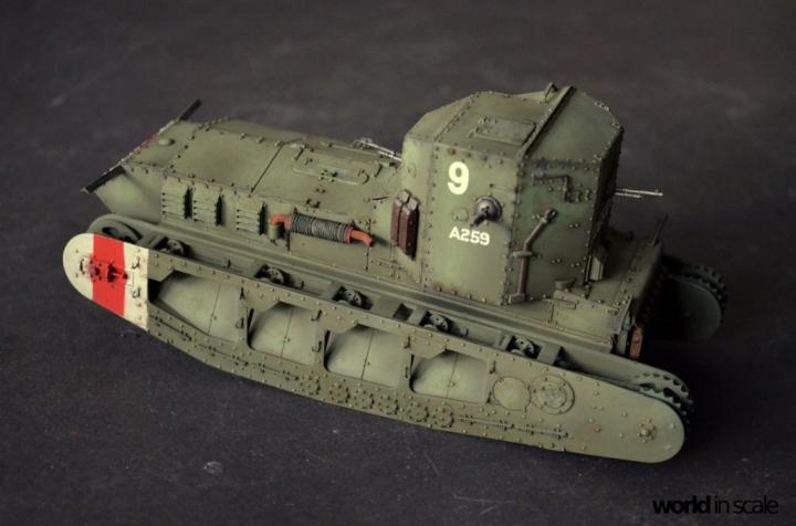 "Mark A ""Whippet"" - 1/35 by MENG Models 247tvj3u"