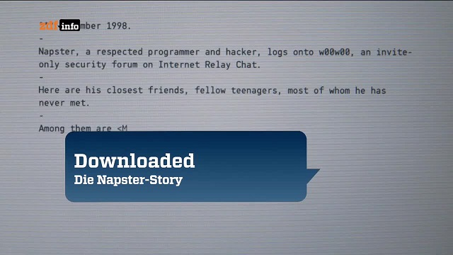 : Downloaded Die Napster Story german doku 720p WebHD x264 iQ