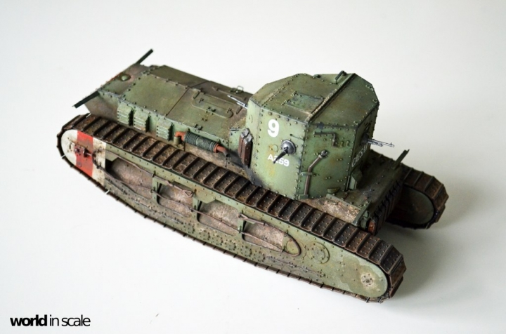 """Mark A """"Whippet"""" - 1/35 by MENG Models Glwoydtm"""