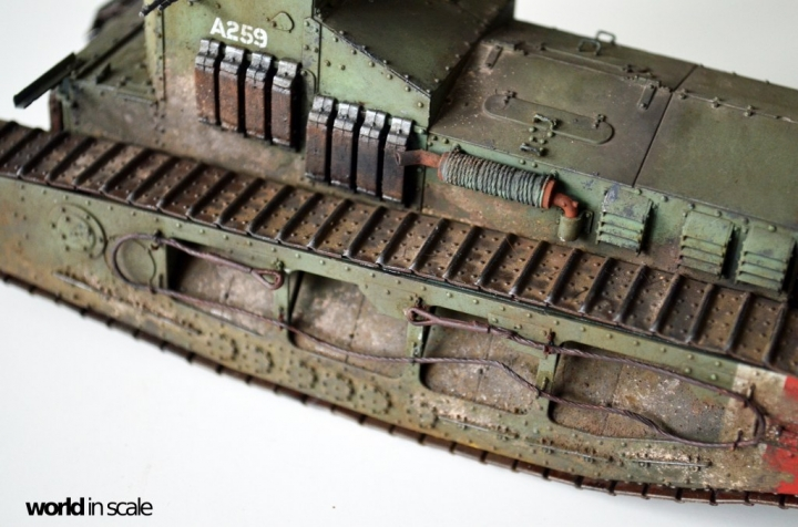"""Mark A """"Whippet"""" - 1/35 by MENG Models P45w3u76"""