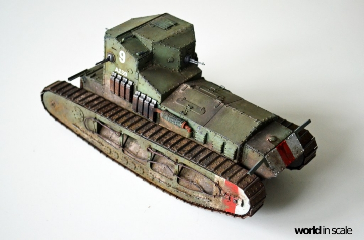 """Mark A """"Whippet"""" - 1/35 by MENG Models Pqyhb83o"""
