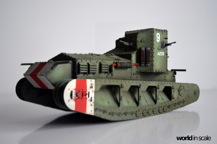 """Mark A """"Whippet"""" - 1/35 by MENG Models Rfd72tct"""