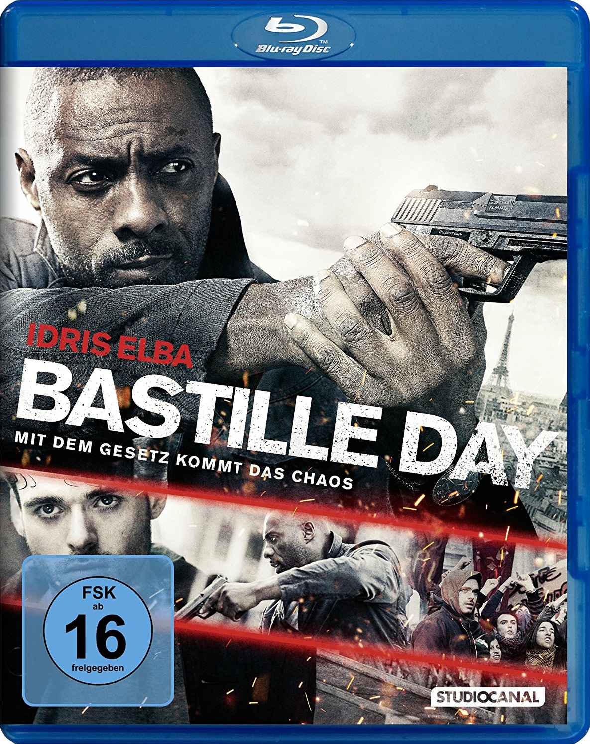 : Bastille Day 2016 German ac3 Dubbed BDRip x264 MULTiPLEX