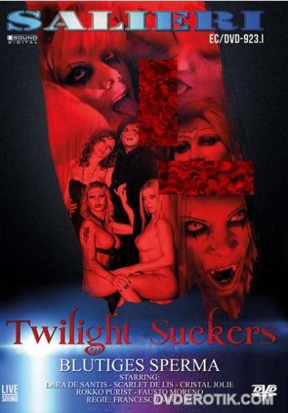 Twilight Suckers - Blutiges Sperma Cover