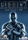 The Chronicles of Riddick: Escape From Butcher Bay Deutsche  Texte, Untertitel, Menüs Cover