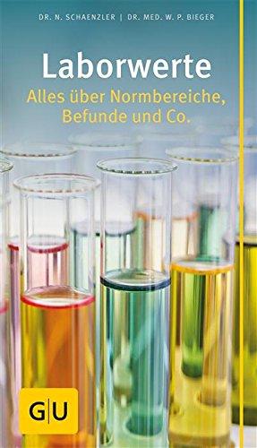 : Gu Laborwerte - Alles ueber Normbereiche, Befunde und Co  - Schaenzler & Bieger