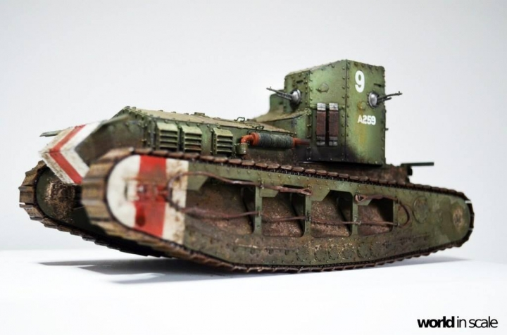 """MK.A """"Whippet"""" - 1/35 by Meng Models Ep422ivs"""