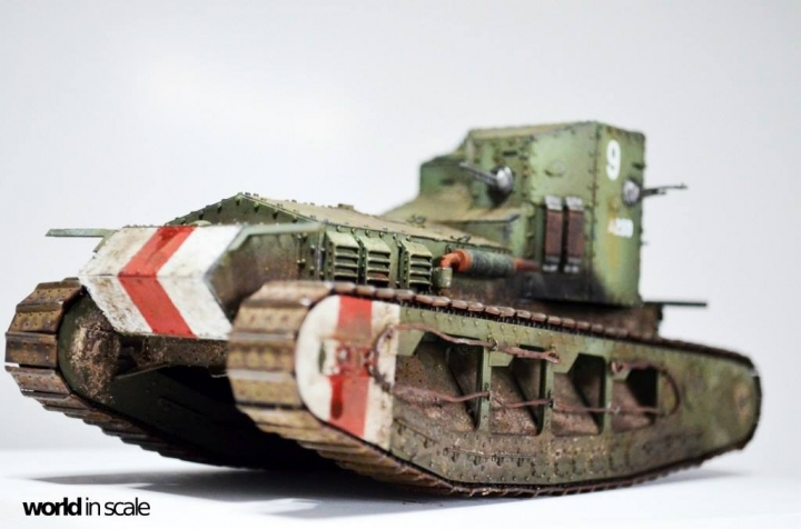 """MK.A """"Whippet"""" - 1/35 by Meng Models H8qhwybc"""