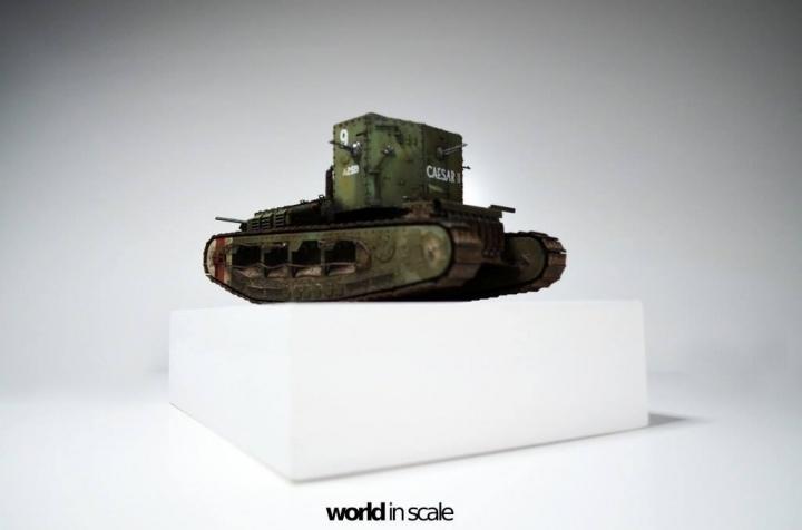 """MK.A """"Whippet"""" - 1/35 by Meng Models Rwxasibk"""