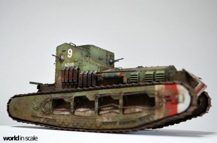 """MK.A """"Whippet"""" - 1/35 by Meng Models Zycv8k2z"""