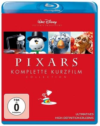 : Pixars komplette Kurzfilm Collection Vol 1 complete Bluray untouched german ml hda