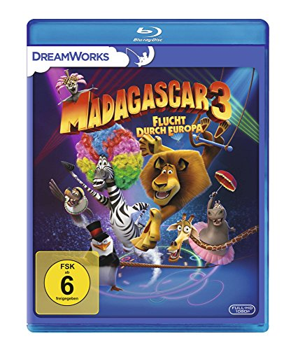 : Madagascar 3 3D Flucht durch Europa 2012 German Dl 1080p BluRay x264 - Etm