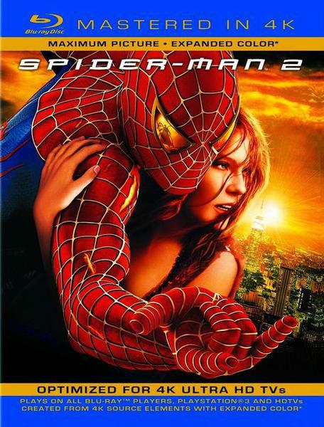 : Spider Man 2 2004 4k remastered German dtsd dl 1080p BluRay x264 Pate