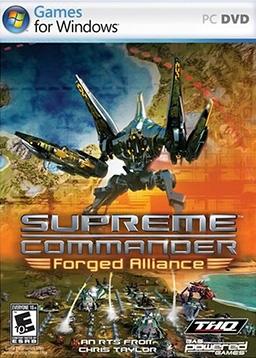 Supreme Commander: Forged Alliance Deutsche  Texte, Stimmen / Sprachausgabe Cover