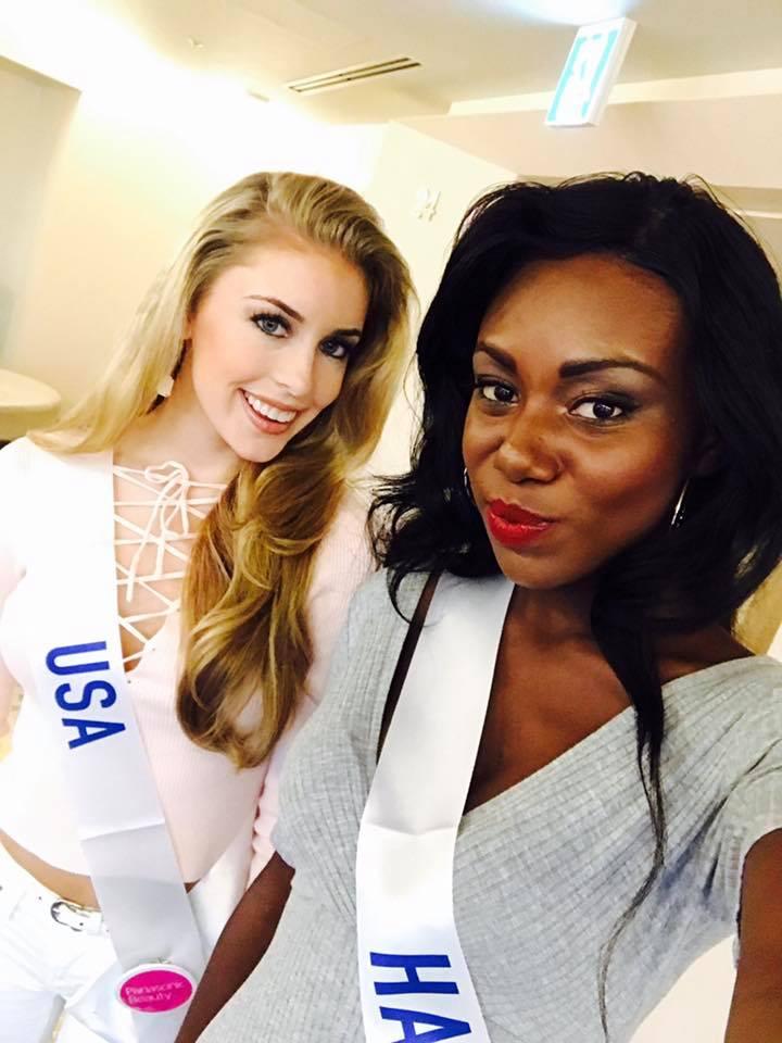 kaitryana leinbach, top 5 de miss international 2016. Fikjwusi