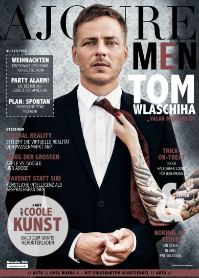 : Ajoure Men - November 2016