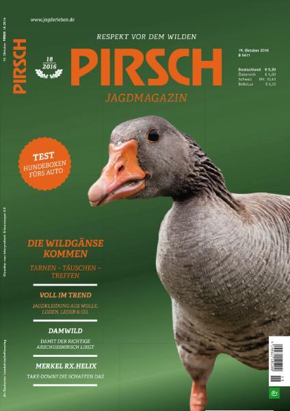 : Pirsch - 19 Oktober 2016