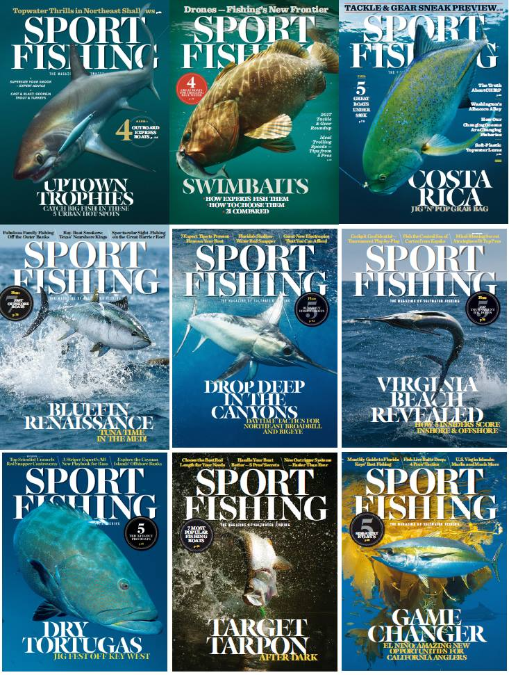 : Sport Fishing - 2016 Full Year Issues Collection