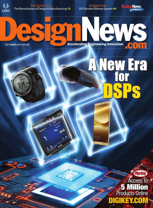 : Design News - October 2016