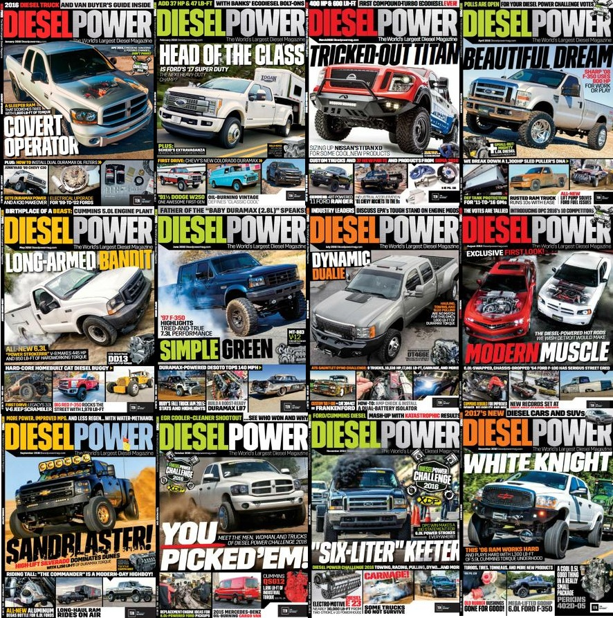 : Diesel Power - 2016 Full Year Issues Collection