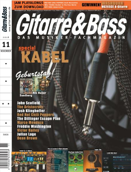 : Gitarre and Bass - November 2016