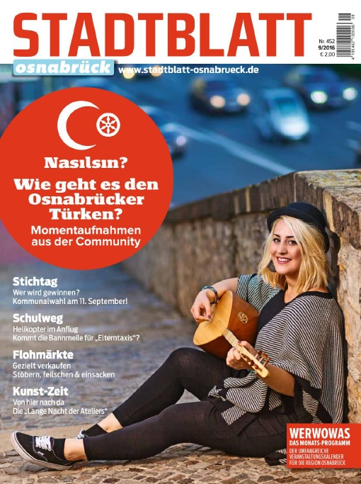 : Stadtblatt Osnabrueck - September 2016