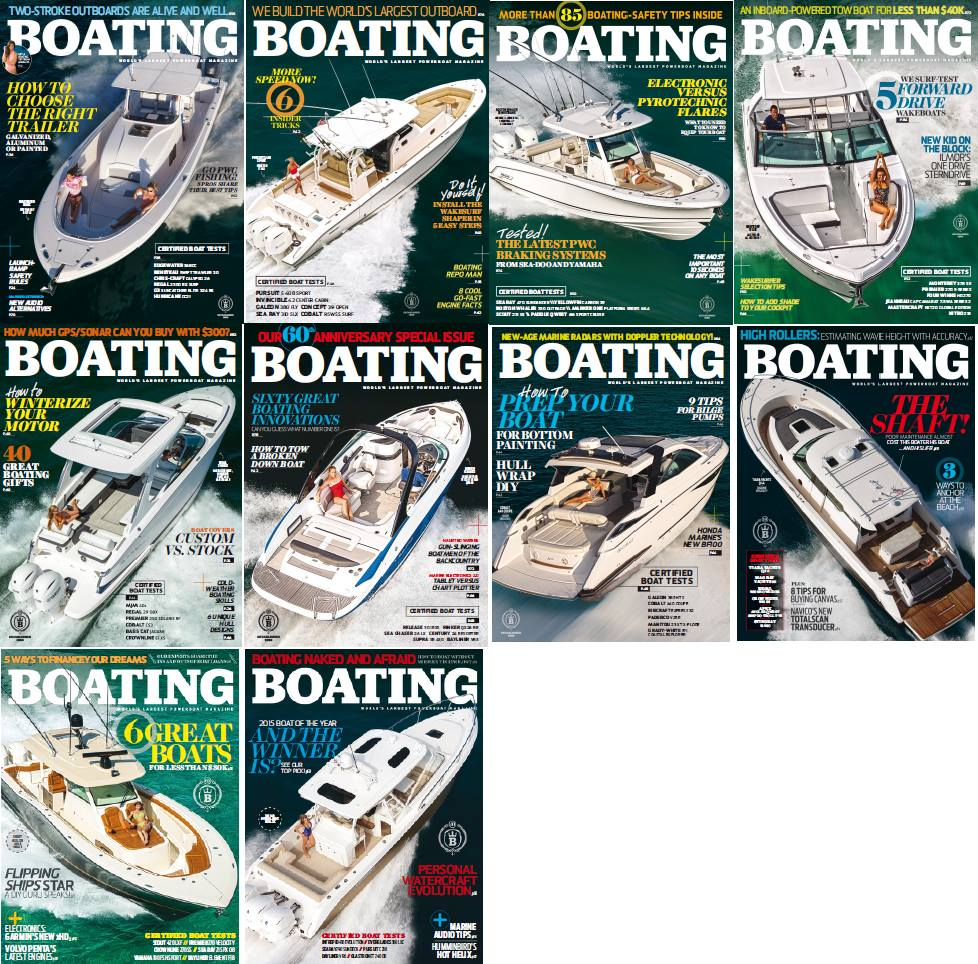 : Boating - 2016 Full Year Issues Collection