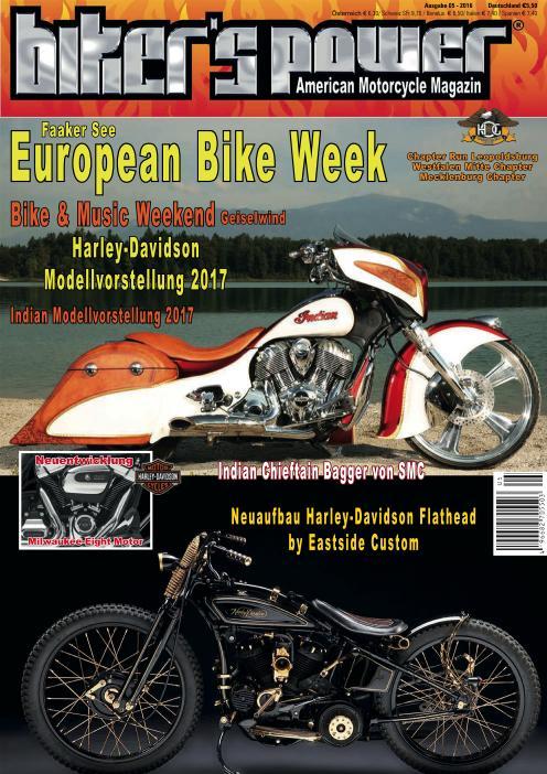 : Biker und Power - Nr 5 2016