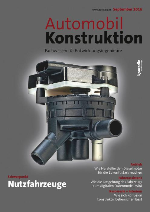 : Automobil Konstruktion - September 2016