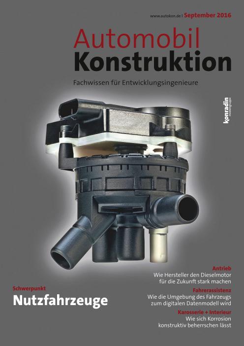 : Automobil Konstruktion - September 2016