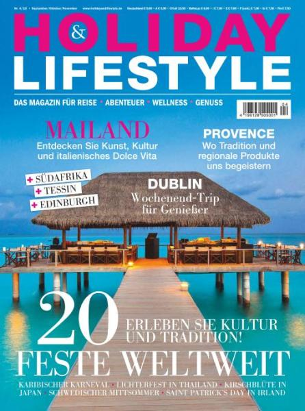 : Holiday and Lifestyle - September-November 2016
