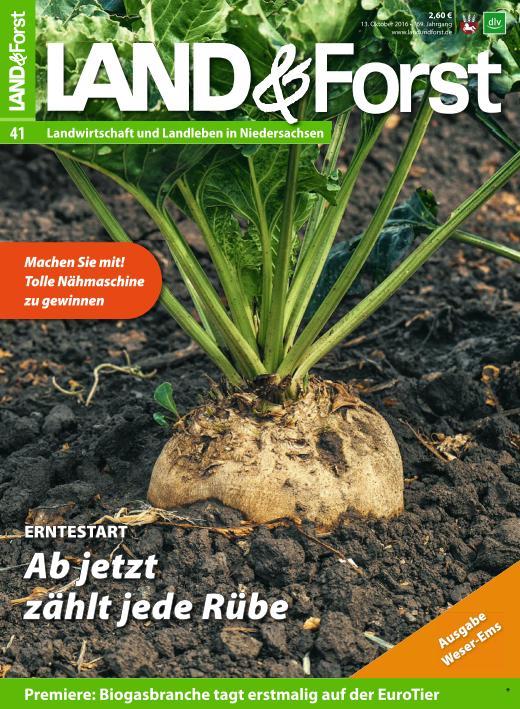 : Land und Forst - 13 Oktober 2016