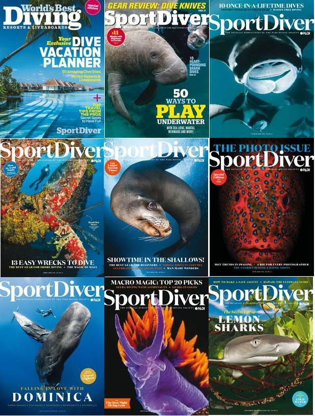 : Sport Diver - 2016 Full Year Issues Collection