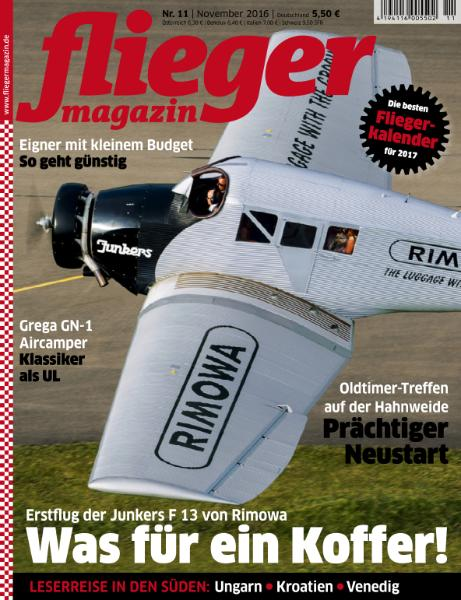 : Fliegermagazin - November 2016