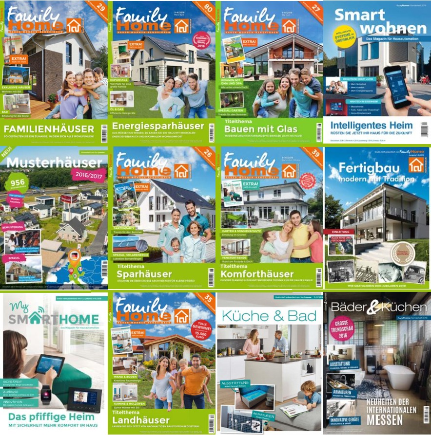 : Family Home - 2016 Full Year Issues Collection
