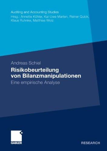 : Risikobeurteilung von Bilanzmanipulationen