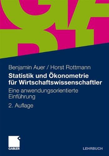 : Statistik und Okonometrie fuer Wirtschaftswissenschaftler