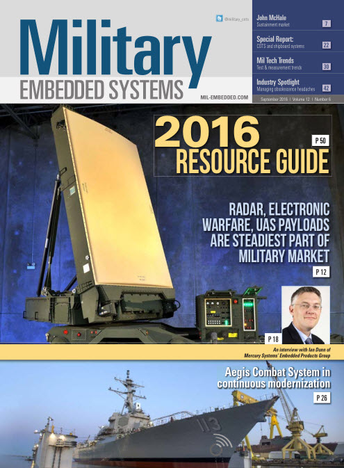: Military Embedded Systems - September 2016