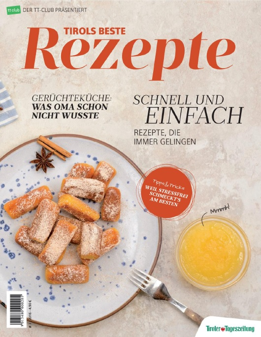 : Tirols Beste Rezepte - September 2016
