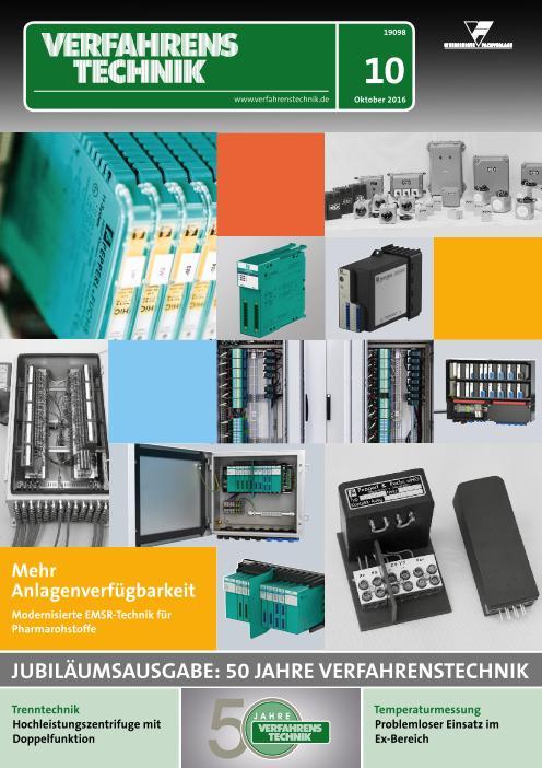 : Verfahrens Technik - Oktober 2016