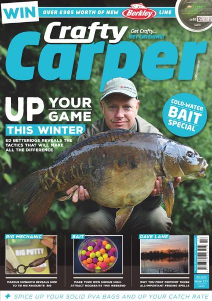 : Crafty Carper - November 2016