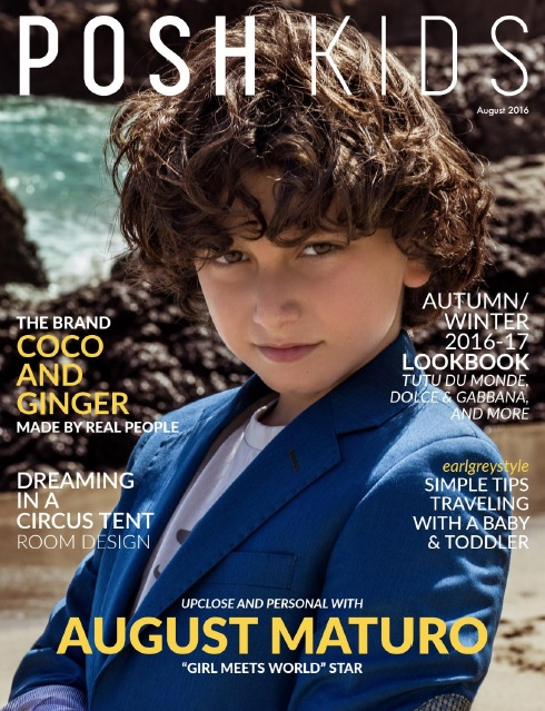 : Posh Kids Magazine - August 2016