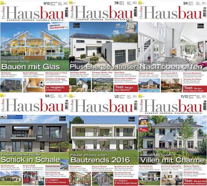 : Hausbau - 2016 Full Year Issues Collection