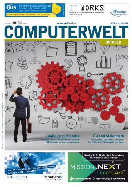: Computerwelt - Nr 20-21 2016