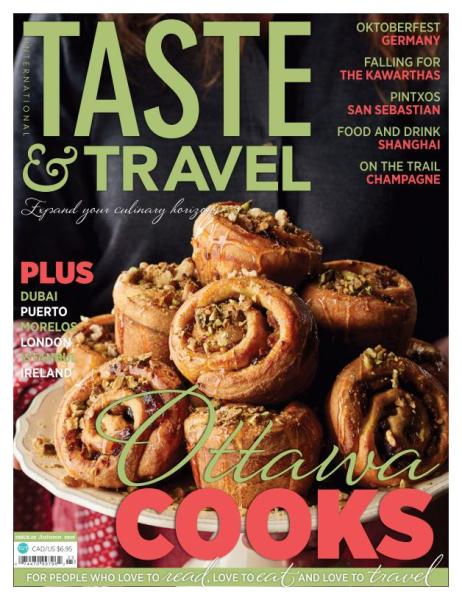 : Taste and Travel International - Autumn 2016