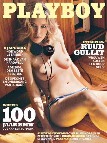 : Playboy Netherlands - Oktober 2016